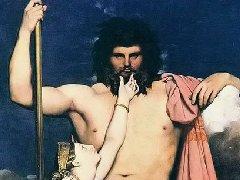 传说中奥林匹亚神神像油画艺术作品