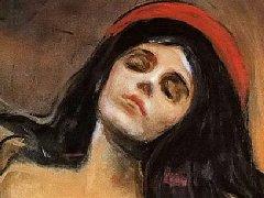 挪威画家蒙克油画人物代表作品集