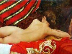 人体艺术油画(中)俄罗斯画家谢尔盖人体油画高清图60P