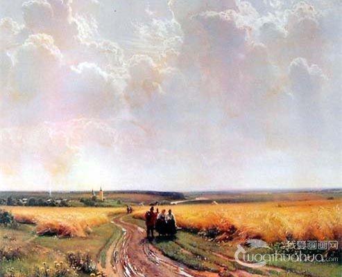 法国画家卢梭梦幻森林风景油画作品赏析