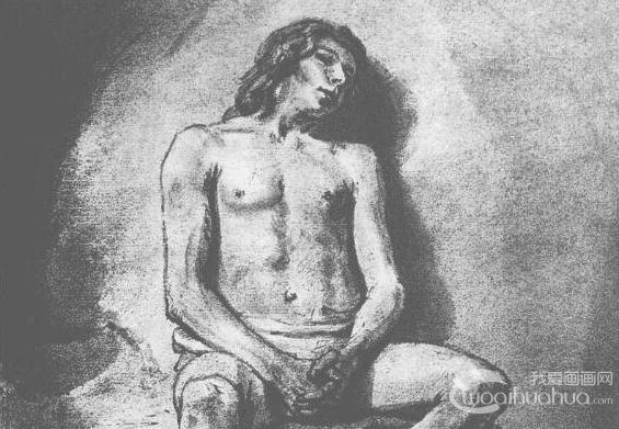 荷兰画家伦勃朗著名人物素描作品欣赏