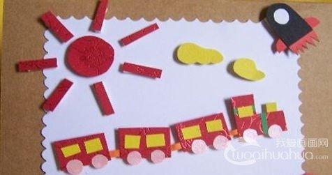 在制作手工贺卡中促进幼儿多种能力的发展