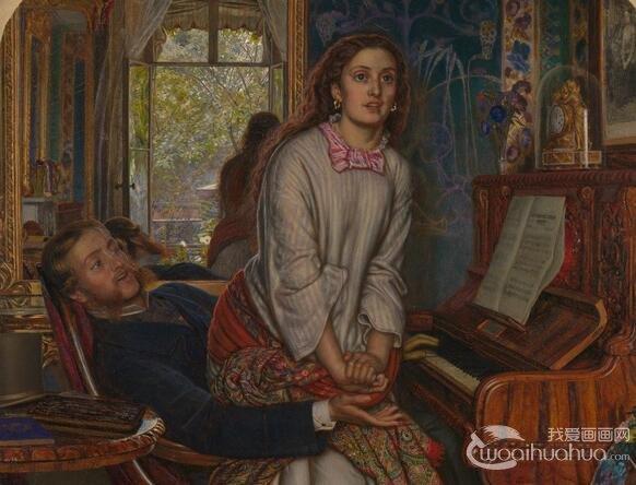 英国画家威廉・霍尔曼・亨特人物油画作品赏析
