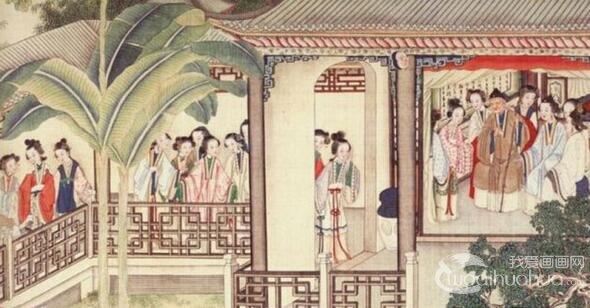 清代画家孙温的《红楼梦》绘本