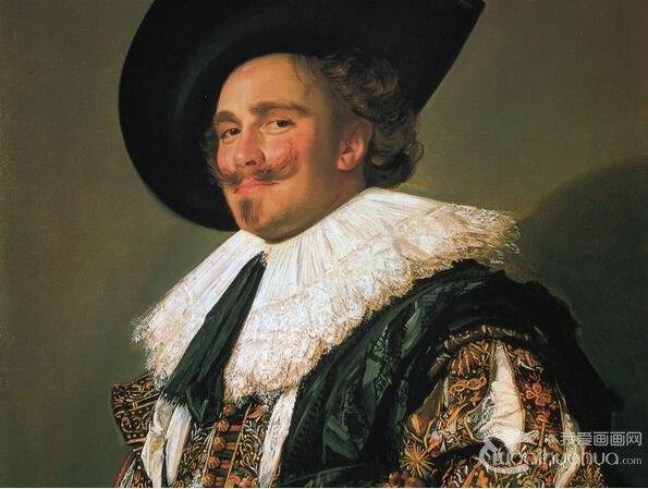 荷兰画家弗朗斯 哈尔斯著名人物油画作品欣赏