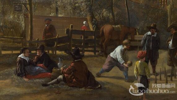 荷兰画家扬・斯丁风俗画油作品赏析