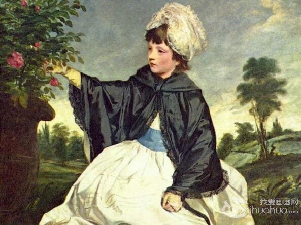 英国画家雷诺兹人物肖像画作品赏析