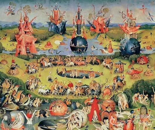 荷兰画家:希罗尼穆斯・波希著名油画欣赏