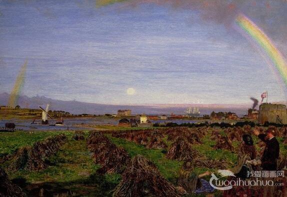 英国画家福特・马多克斯・布朗著名油画作品赏析