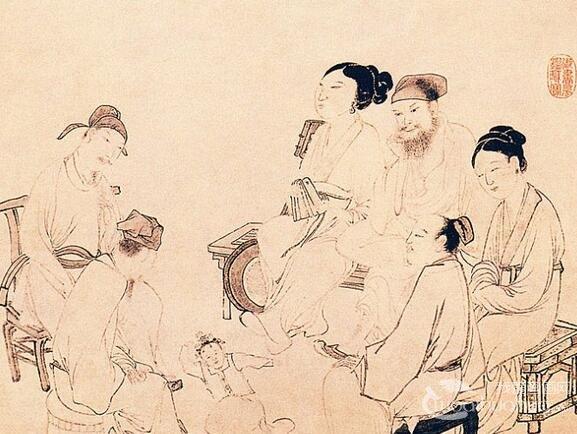 明代画家吴伟水墨人物画作品赏析