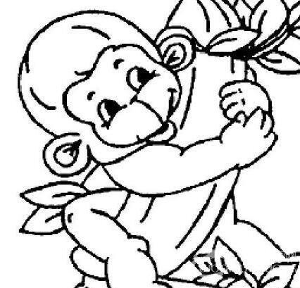 可爱简笔画欣赏:可爱的小动物简笔画