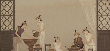 中国画工笔画技法之十八描介绍