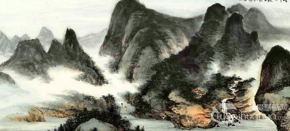 中国当代画家刘怀山国画作品欣赏