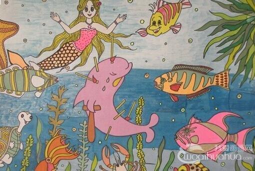 简单又漂亮的简笔画美人鱼怎么画 ……找到两幅图片 ...