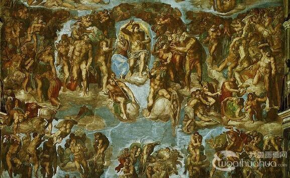 意大利文艺复兴艺术三杰米开朗基罗作品赏析