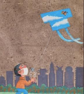 第十届国际环保漫画插画大赛优秀作品