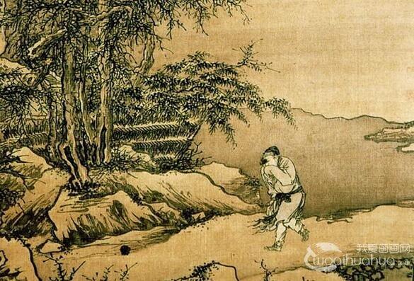 明代画家戴进山水画作品赏析