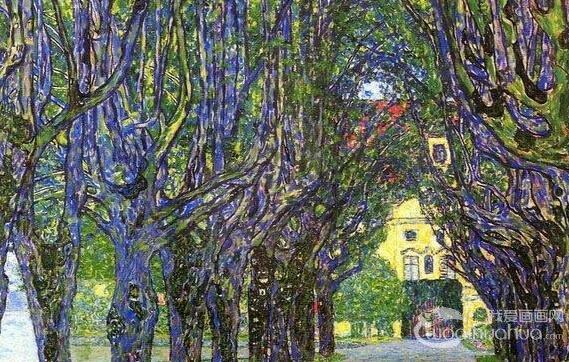 奥地利知名象征主义画家古斯塔夫・克林姆作品赏析