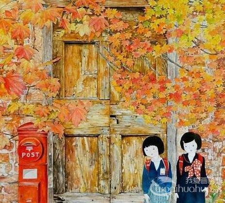 �y川奈美的田园生活插画