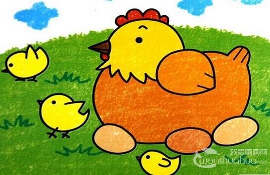 动物简笔画图片,如何教孩子学习动物简笔画 10