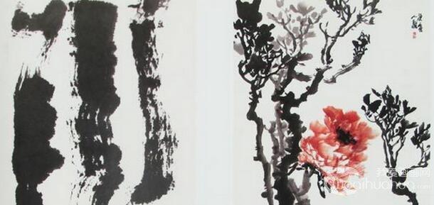 粉红工笔牡丹绘画教程 李晓明工笔牡丹画法 6