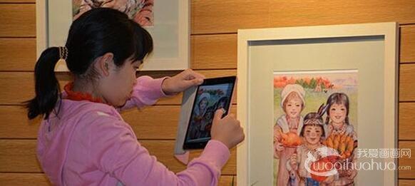 《美术,让孩子变得更优秀》周年展杭州图书馆举行