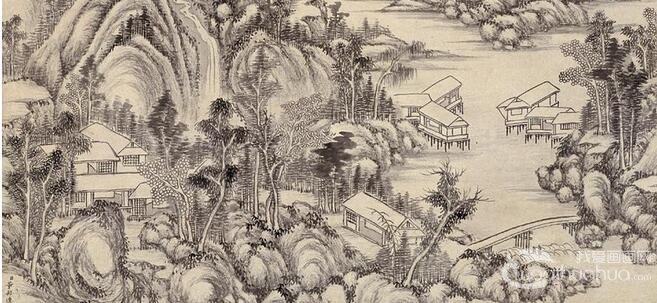 清朝画家董邦达山水画赏析