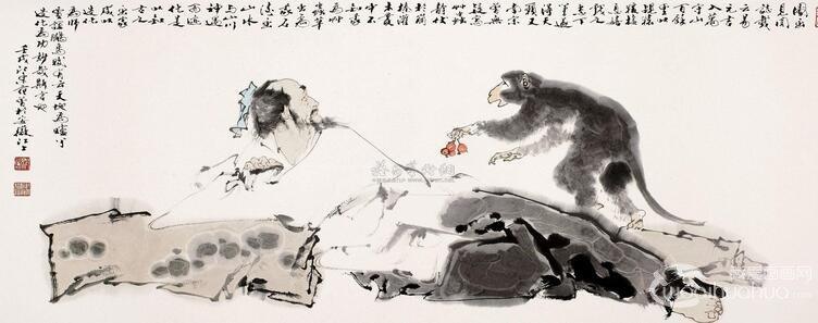 北宋画家易元吉代表作品