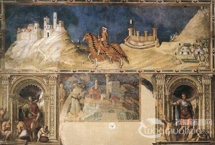 意大利锡耶纳画派画家西蒙・马丁尼