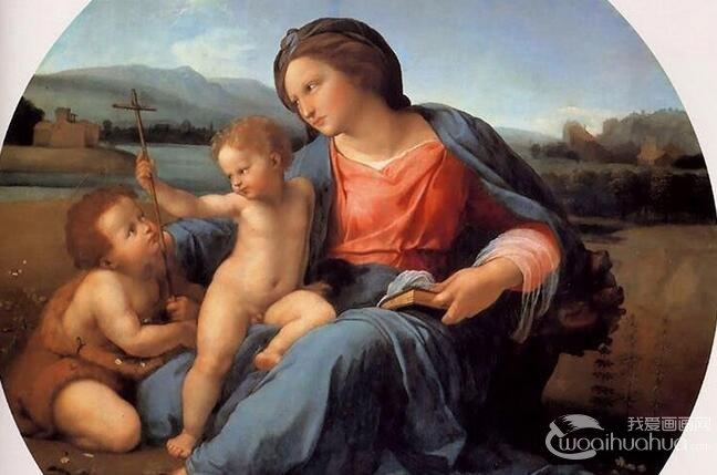 斐尔学对油画人物构图技巧