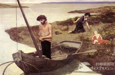 夏凡纳-法国象征主义代表画家