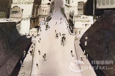 水彩画双年展下月在深圳美术馆首展
