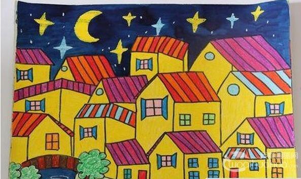 幼儿学画画:如何提高幼儿学蜡笔画的兴趣