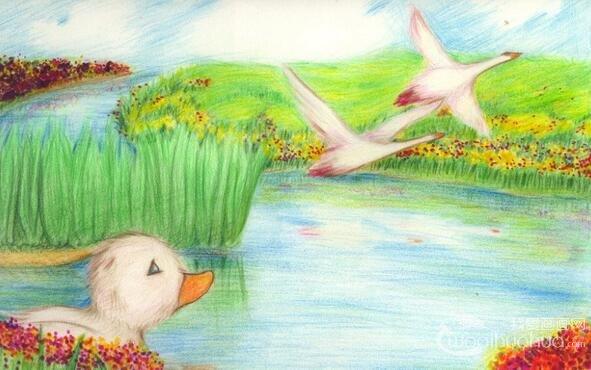 儿童学画画:彩色铅笔分类方法
