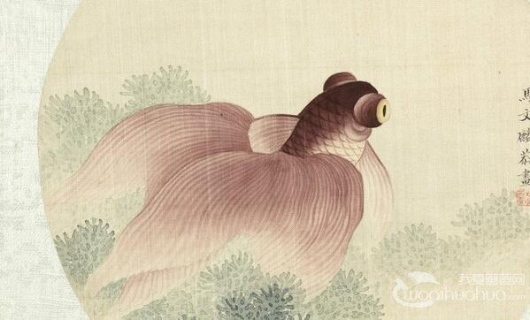 清代马文麟鱼虫画作品欣赏