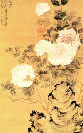 清代画家恽寿平花鸟画作品欣赏