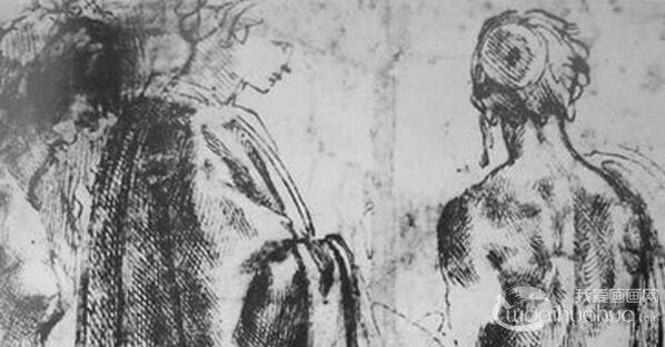 名家米开朗基罗・波纳罗蒂素描作品欣赏