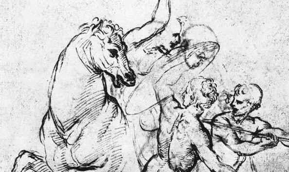 著名画家拉斐尔素描作品欣赏