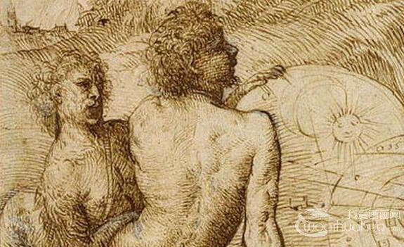 著名画家提香・韦切利奥素描作品欣赏