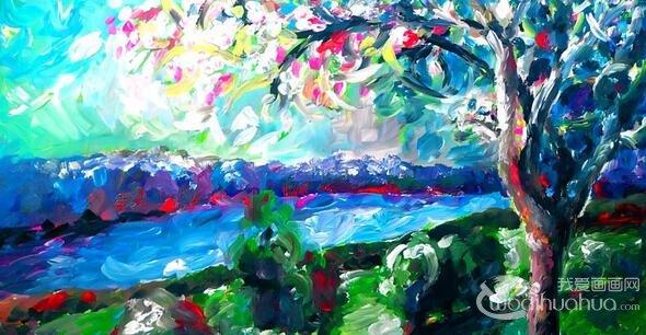 油画知识:印象派油画的创作过程