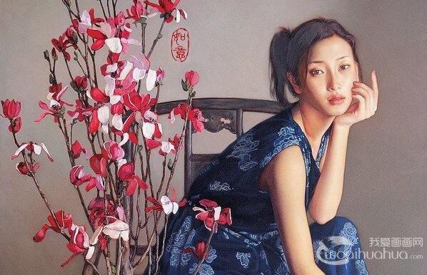 李贵君人物油画作品欣赏