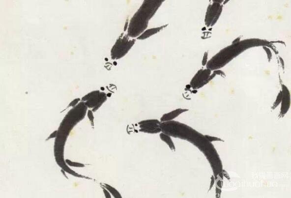齐白石《鱼》作品赏析