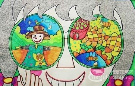 幼儿学画画 如何读懂儿童画