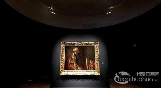 伦勃朗争议画作《索尔与大卫》最终确定为其真迹