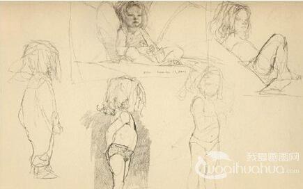 人体素描:如何把握儿童人体比例