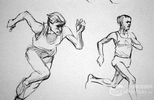 人体素描:如何学习身体运动素描绘画