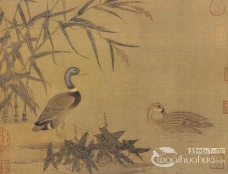 中国古代禽兽画赏析