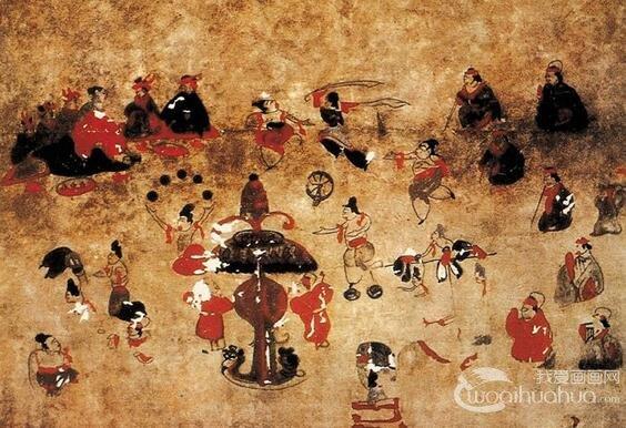 中国古代时期人物画赏析