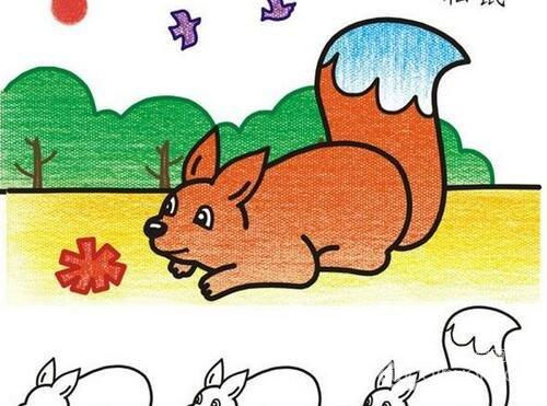 动物简笔画 各种小动物简笔画教程大全 9图片
