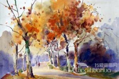 水彩画的绘画过程与技巧